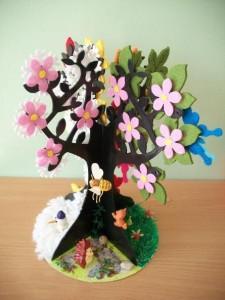 Make Four Season Trees (9)