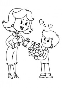 Mother s Day coloring pages for  kıds (1)