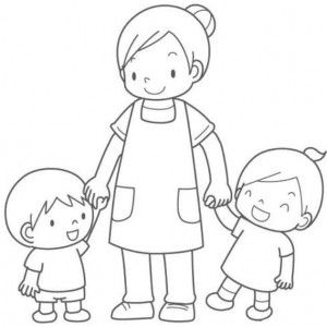 Mother s Day coloring pages for  kıds (13)