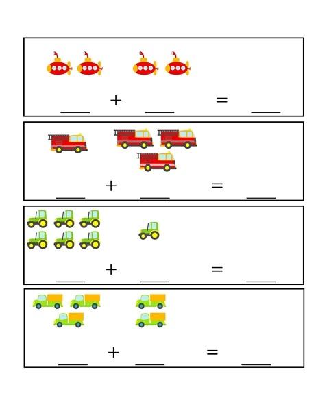 vehicles additions activities 1 preschool and homeschool. Black Bedroom Furniture Sets. Home Design Ideas