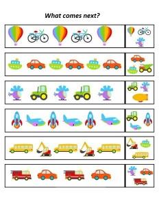 Vehicles pattern (2)
