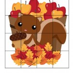 Autumn Printables for Preschoolers