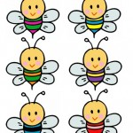 Bee Worksheets for Preschool