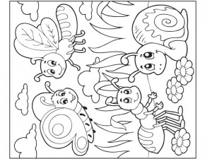 bugs coloring pages cool (11)