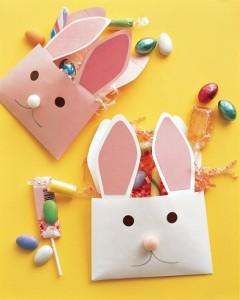 bunny crafts envelope