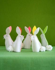 bunny crafts felt