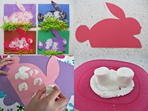 bunny crafts marsmallow