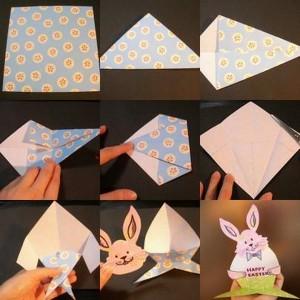 bunny crafts origami