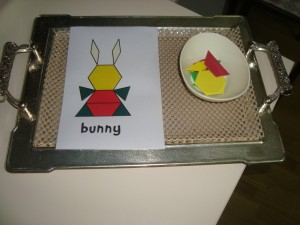 bunny puzzle for toddlers
