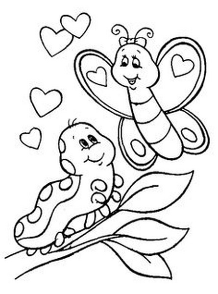 butterfly coloring pages  1   u00ab preschool and homeschool