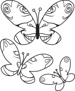 butterfly coloring pages (4)