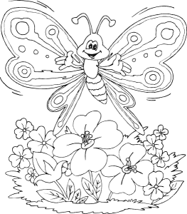 butterfly coloring pages (9)