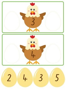 chicken count activities for kıds (2)