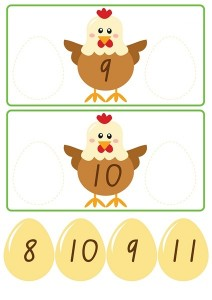 chicken count activities for kıds (3)