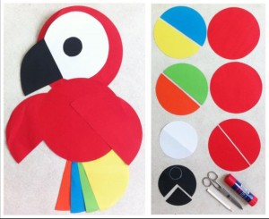 circle paper craft for kıds (7)