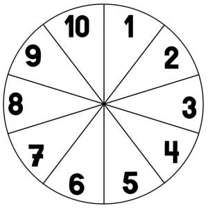 clothespin number wheels preschool