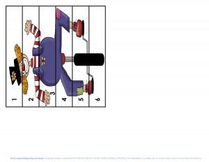 clowning around puzzles for kıds (11)