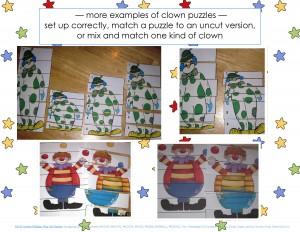 clowning around puzzles for kıds (3)