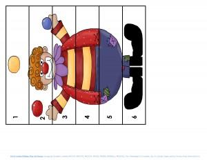 clowning around puzzles for kıds (5)