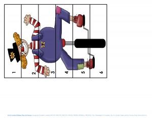 clowning around puzzles for kıds (9)