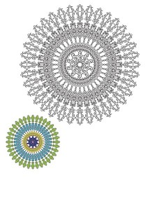 coll mandala worksheets