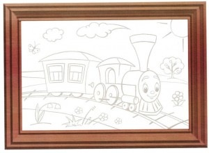 color painting train (2)