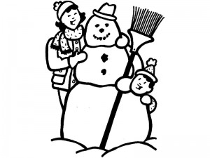 coloring pages winter