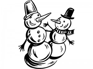 coloring pages winter cool