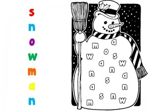 coloring pages winter cool activity