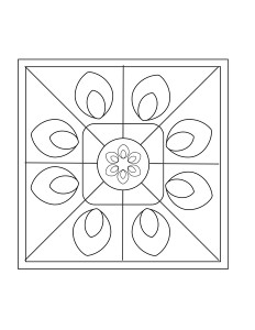 cool mandala exercise