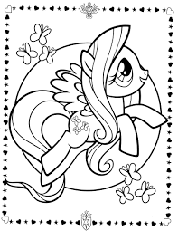 cool my little pony coloring pages