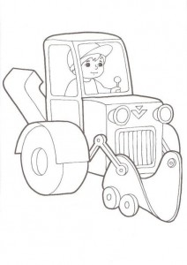 cut and paste activities tractor