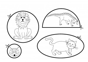 cutting worksheets animals (2)