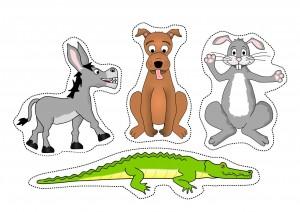 cutting worksheets farm animals (2)