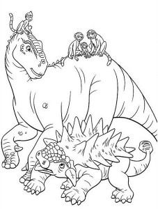 dinosaur coloring pages activities (14)