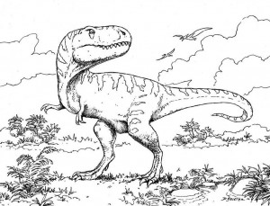 dinosaur coloring pages activities (17)