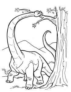 dinosaur coloring pages activities (2)