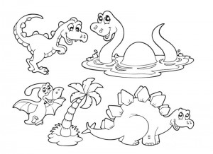 dinosaur coloring pages activities (25)