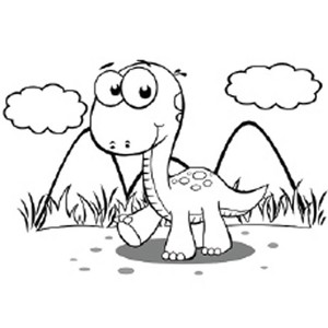 Dinosaur Coloring Pages funnycrafts