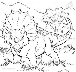 dinosaur coloring pages activities (36)