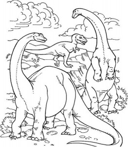 dinosaur coloring pages activities (5)