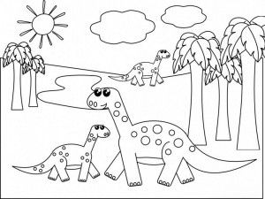 dinosaur coloring pages activities (8)