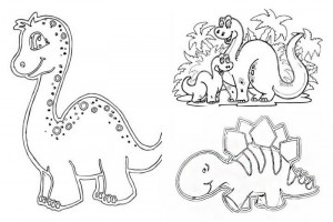 dinosaur coloring pages activities (9)
