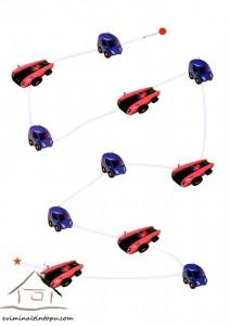easy labyrinth cars