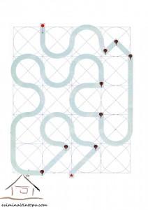 easy labyrinth for preschool