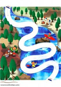 easy labyrinth river
