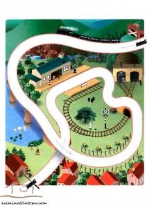 easy labyrinth train way