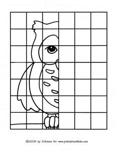 fınısh drawing the owl