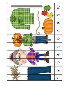 fall-autumn squence puzzles