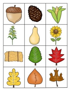 fall-autumn worksheets cards